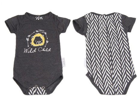 Schnooky-Pie-Cotton-babygrow-with-Puffed-Lion-and-chevron-back-GREY-800x600