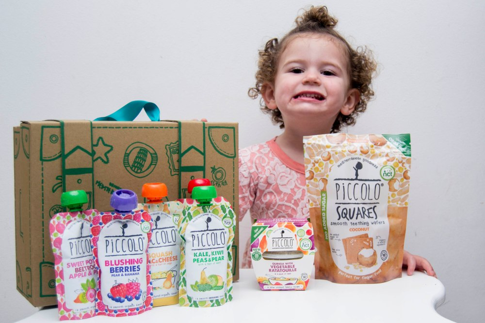 What Maddie's Eating – Piccolo Organic Baby Food | Being