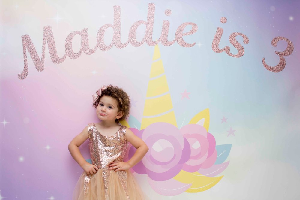 Maddie is 3 3S